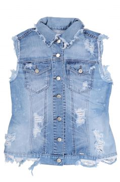 Colete It s & Co Arles Jeans Azul It s & Co