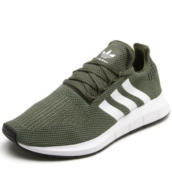 Tênis adidas Originals Swift Run W Verde adidas Originals ca70bff2600b4