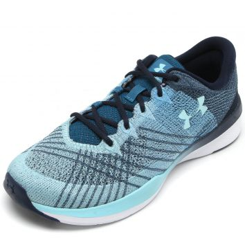 Tênis Under Armour Threadborne Push TR Verde Under Armour