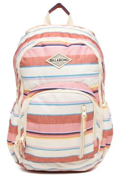 eeab2efbb8ce3 Mochila Billabong Roadie Rosa Off-White Billabong (Bolsas - Casual ...