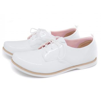 Oxford 03 Branco Mu Shoes Mu Shoes