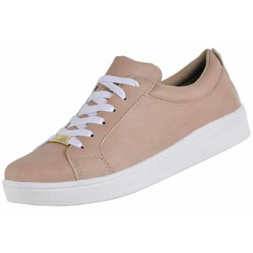 Tênis Casual CR Shoes Nude CR Shoes