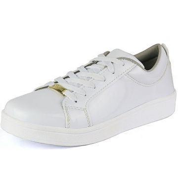 Tênis Verniz CR Shoes Super Leve Branco CR Shoes