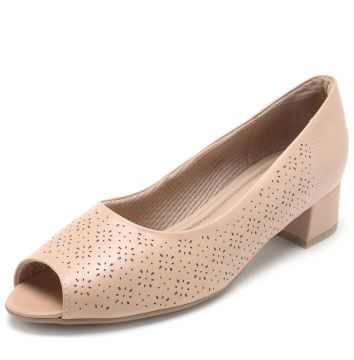 Peep Toe Piccadilly Lasercut Rosa Piccadilly