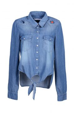 Camisa It s & Co Apache Jeans Azul Its & Co