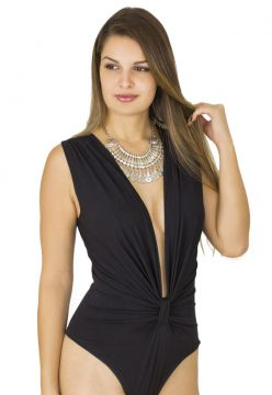 Body Dress Code Moda Decote Preto Dress Code Moda