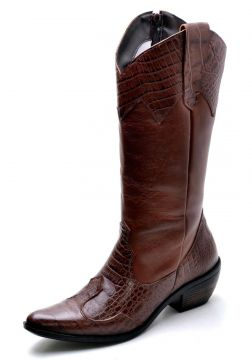 Bota Sobotas PBS Country M7120 Marrom Sobotas