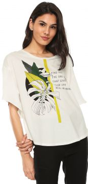 Blusa Forum Find Out Off-white Forum