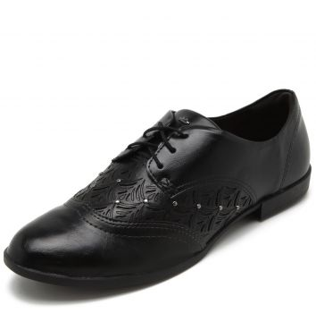 Oxford Dakota Lasercut Preto Dakota