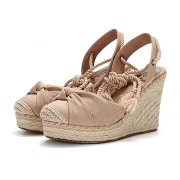 Espadrille Connect Shoes Anabela Nude Connect Shoes