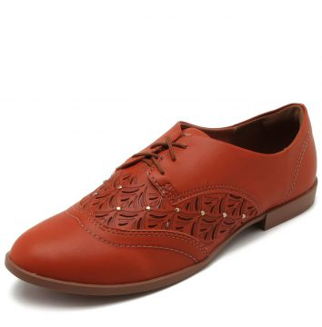 Oxford Dakota Lasercut Caramelo Dakota