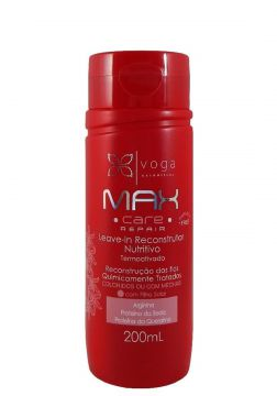 Leave-in Reconstrutor Nutritivo Voga Max Care Repair 200ml