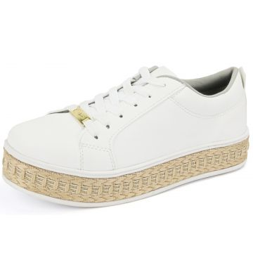 Tênis CR Shoes Flatform Confort Branco CR Shoes