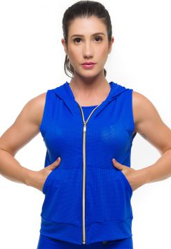 Colete Sandy Fitness Maxx Air Azul Sandy Fitness