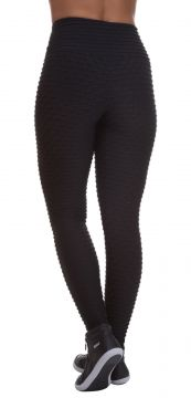 Legging Miss Blessed Colméia Preto Miss Blessed