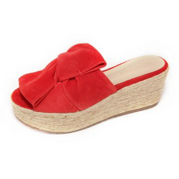 Sandália The Box Project Flatform Summer Nights Vermelho Th