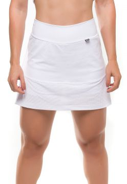 Short-Saia Sandy Fitness Energize Branco Sandy Fitness