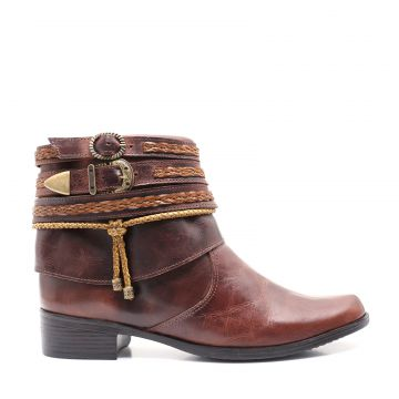 Bota Country 011 Alice - Fossil Tabaco 011