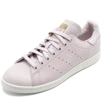 Tênis Couro adidas Originals Stan Smith W Rosa adidas Origi