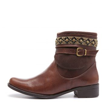 Bota Feminina Elite Country Donna Tabaco Elite Country