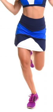 Short-Saia Sandy Fitness Play Royal Azul Marinho Sandy Fit