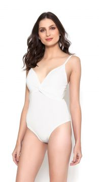 Body Cavado Lucy in The Sky com Alça Off White Lucy in The