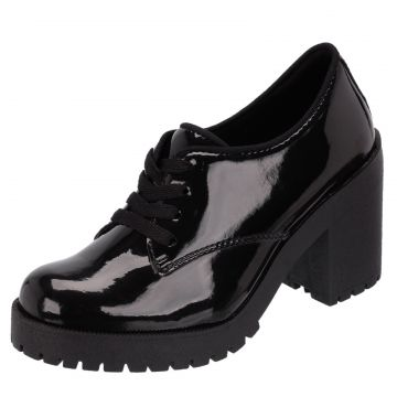 Oxford CR Shoes Recortes Verniz Preto CR Shoes