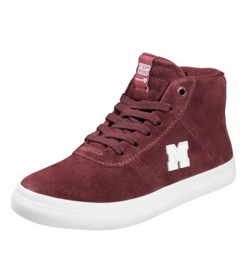 Tênis Mary Jane Boulevard Suede Bordo Mary Jane