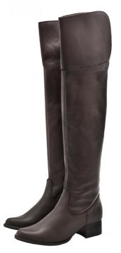 Bota Over The Knee Corazzi Leather Deluxe c/ Extensor Pantu