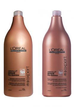 Kit Shampoo e Condicionador L Oréal Absolut Repair Pós Quím