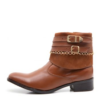 Bota Elite Country Anna Nobuck Linhaca Elite Country