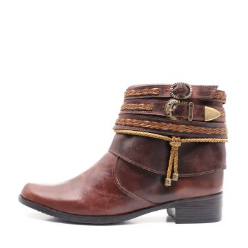 Bota Feminina Elite Country Alice Tabaco Elite Country