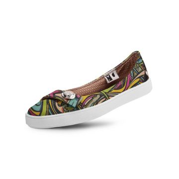 Sapatilha Usthemp Womanly Vegano Casual Art Candy Multicolo
