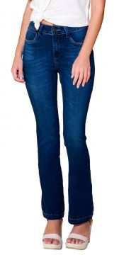 Calça Young Style Jeans Bootcut Azul Young Style Jeans 9f2a9f8fe05