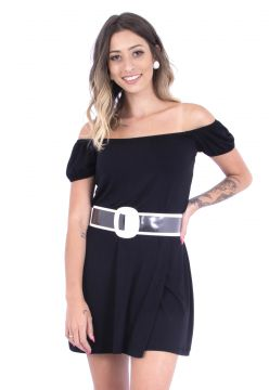 Vestido Up Side Wear Ciganinha Preto Up Side Wear