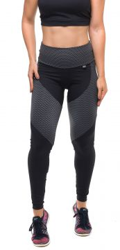 Calça Legging Sandy Fitness Athletic Preto Sandy Fitness