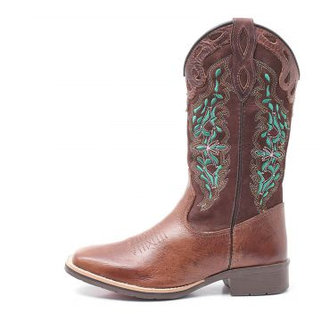 Bota Elite Country Dilley Fossil Tabaco Cafe Elite Country