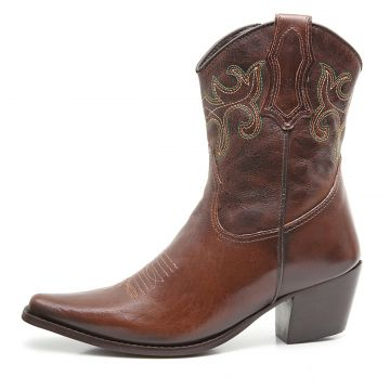 Bota Elite Country Dallas Fossil Tabaco Elite Country