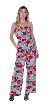 Macacão Love Poetry Viscose Estampa Floral Love Poetry