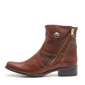 Bota Feminina Elite Country Lipan Tabaco Marrom Elite Count