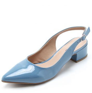 Scarpin DAFITI SHOES Dorsay Azul DAFITI SHOES