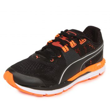 Tênis Puma Speed 600 Ignite Wn Preto/Laranja Puma