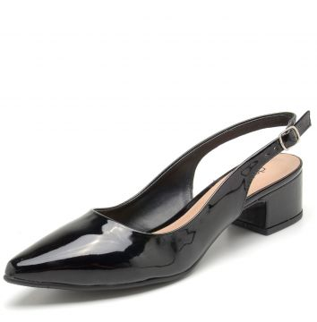 Scarpin DAFITI SHOES Dorsay Preto DAFITI SHOES