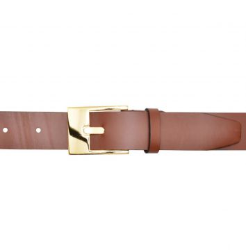 Cinto Corazzi Leather Deluxe Couro Caramelo Corazzi Leather