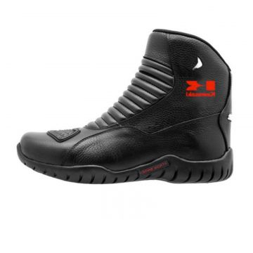 Bota Motociclista Kawasaki Atron Shoes Preto Atron Shoes