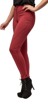 Calça Skinny MX Fashion Lycra Stone Vermelha MX Fashion