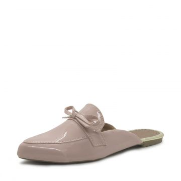 Mocassim Mule Shoes inbox Casual Laço Frontal Pop Rose Shoe