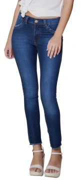 Calça Young Style Jeans Cigarrete Premier Jeans Azul Young fcf343f0596