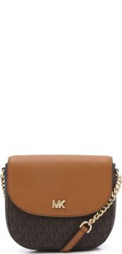 Bolsa Transversal Michael Kors Crossbodies Marrom Michael K