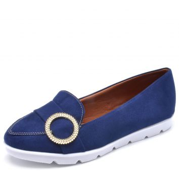 Mocassim DAFITI SHOES Argola Azul DAFITI SHOES